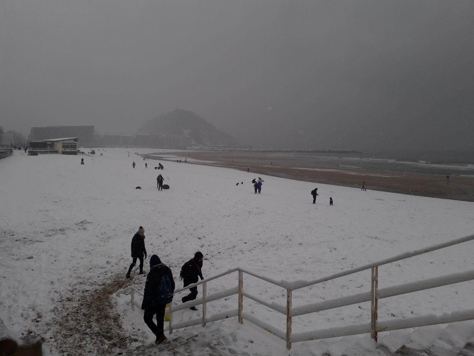 Nieve San Sebastián 2