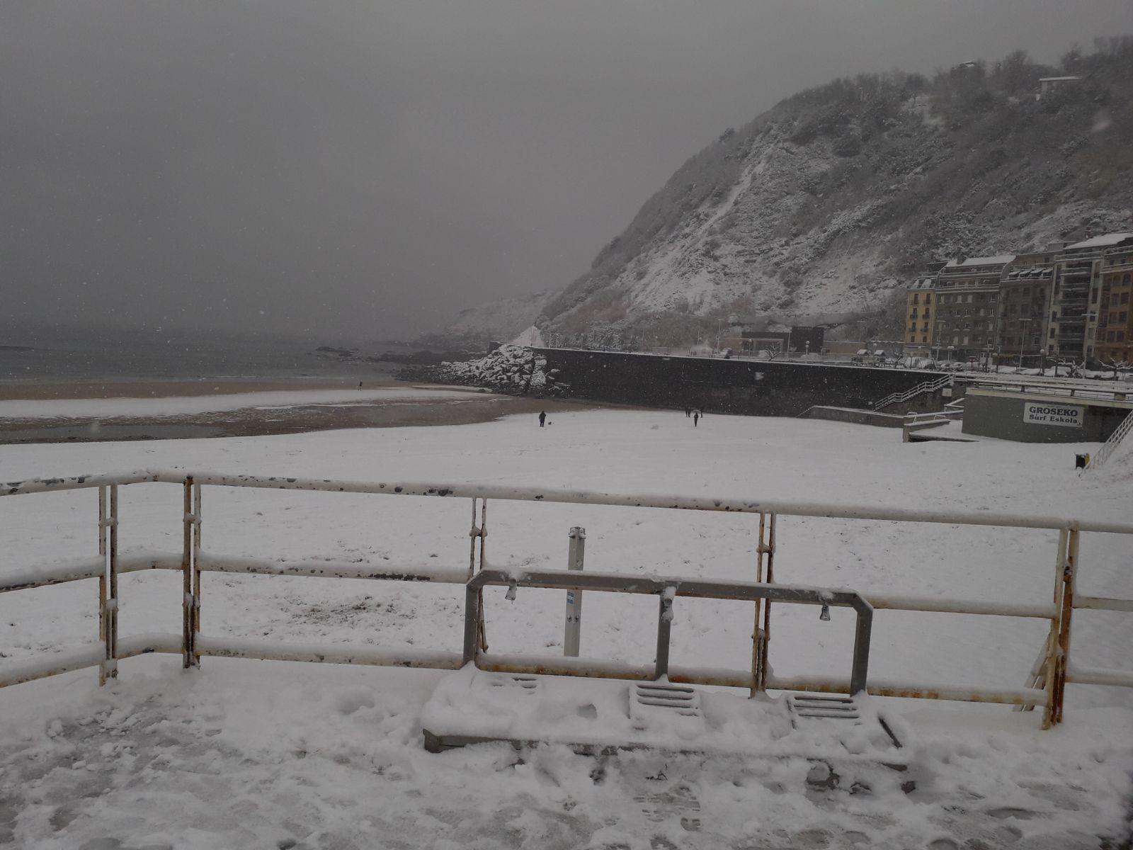 Nieve San Sebastián 1